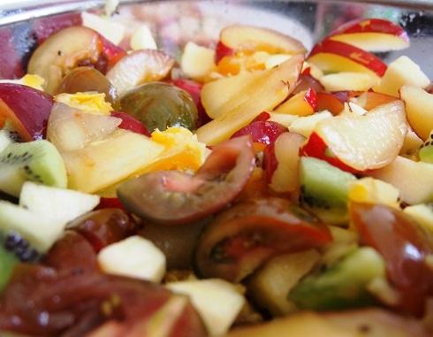 Salade de fruits, jolie jolie...